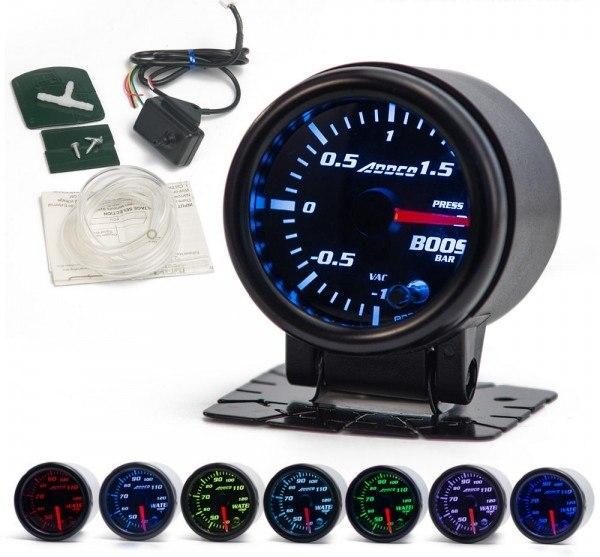 Zegar ADDCO 52mm - Boost Wskaźnik Doładowania Turbo - GRUBYGARAGE - Sklep Tuningowy